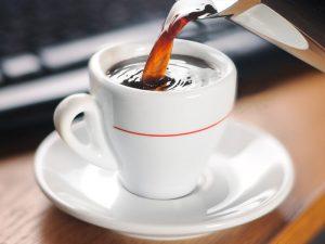 evite café antes de correr